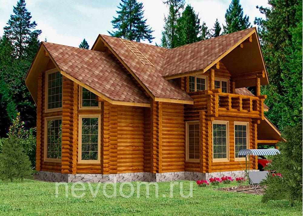Проекты домов из кирпича - allhomesru