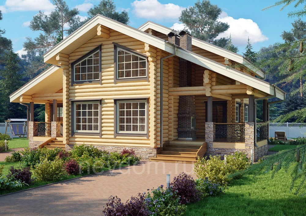Проекты коттеджей, проектирование загородных домов