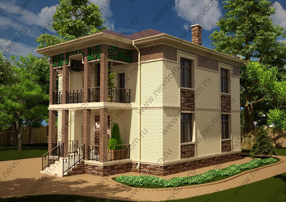 Планировка двухэтажного дома 6 на 6 м: организация